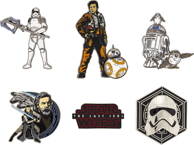 pin's star wars
