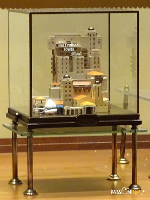 maquette Hollywood Tower Hotel