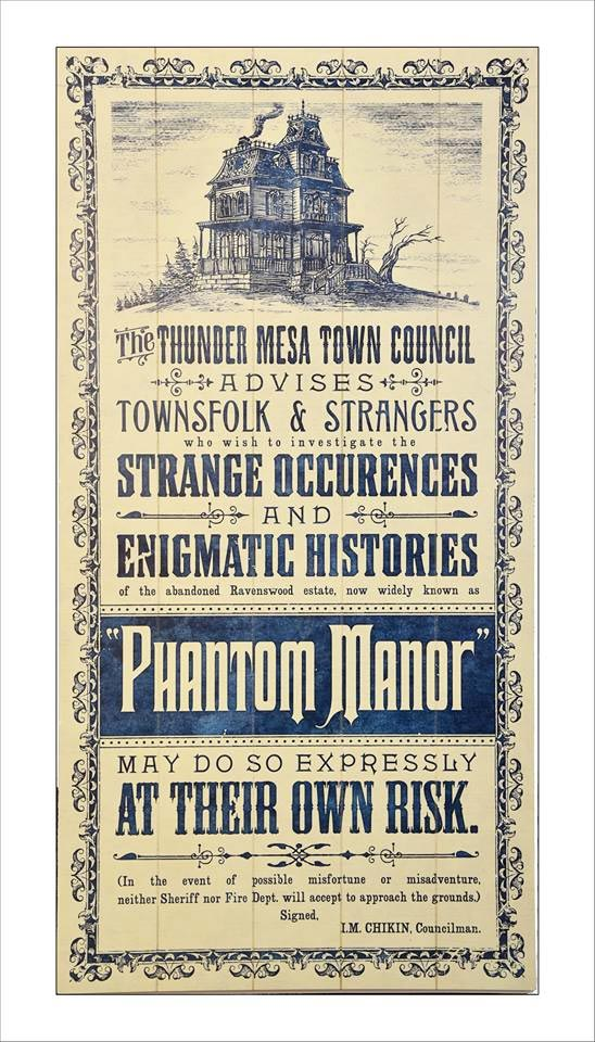 affiche phantom manor